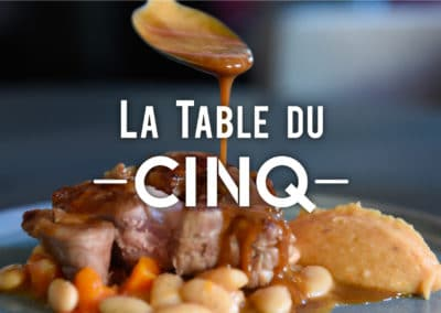 La Table du Cinq